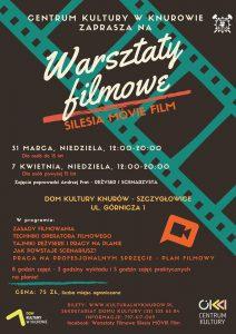 Dom Kultury Knurów-Szczygłowice: Warsztaty filmowe  ( dla osób do 15 lat)