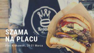 Gliwice: Szama na Placu- wiosenny zlot food trucków na Placu Krakowskim!