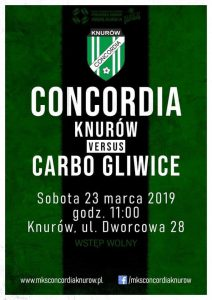 Concordia Knurów vs Carbo Gliwice - runda wiosenna