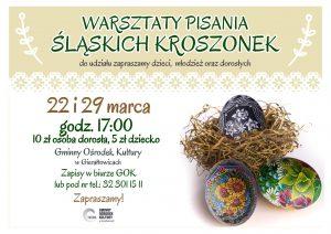 GOK Gierałtowice: Warsztaty pisania śląskich kroszonek