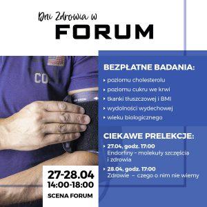 CH Forum Gliwice: Dni Zdrowia
