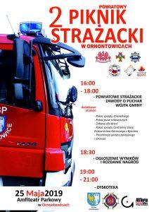 Ornontowice: Powiatowy 2 Piknik Strażacki