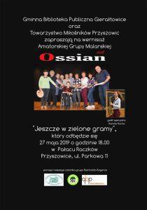 Przyszowice: Wernisaż art Ossian