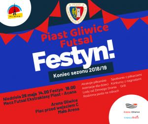 Arena Gliwice: Festyn na zakończenie sezonu Piast Gliwice - Futsal