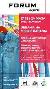 CH Forum Gliwice: Ubrania na męskie badania