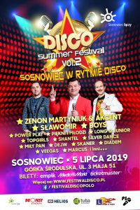 Sosnowiec: Disco Summer Festival 2019