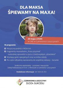 Czerwionka-Leszczyny: Szkoły wspólnie dla Maksa