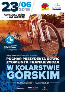 Gliwice: Kolarstwo górskie o Puchar Prezydenta Gliwic.