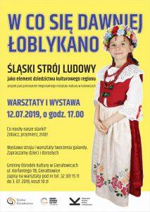 GOK Gierałtowice: W co się dawniej Łoblykano - warsztaty i  wystawa