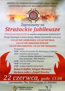 Czerwionka-Leszczyny: Strażackie Jubileusze