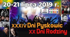 Pyskowice: Dni Pyskowic 2019 - C-BooL, Kobranocka, Andrzej Piaseczny