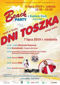 Region:  Dni Toszka 2019