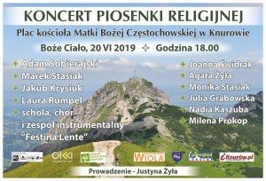 Knurów: Koncert Piosenki Religijnej