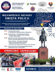 Katowice: Obchody Święta Policji 2019 w województwie śląskim