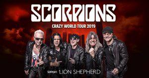 Arena Gliwice: Koncert Scorpions