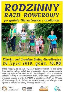 Gierałtowice: Rodzinny Rajd Rowerowy