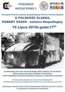 Pyskowice:  Otwarcie wystawy upamiętniającej 100-lecie Powstań Śląskich