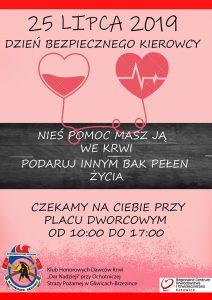 Gliwice: Akcja krwiodawstwa - 25 lipca