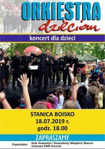 Stanica: Orkiestra dzieciom - koncert