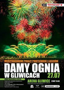 Arena Gliwice: Międzynarodowe Pokazy Pirotechniki i Laserów