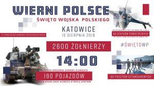 Katowice: Defilada z okazji Święta Wojska Polskiego