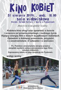 Pyskowice: Kino Kobiet i spotkanie z Katarzyną Szota-Eksner