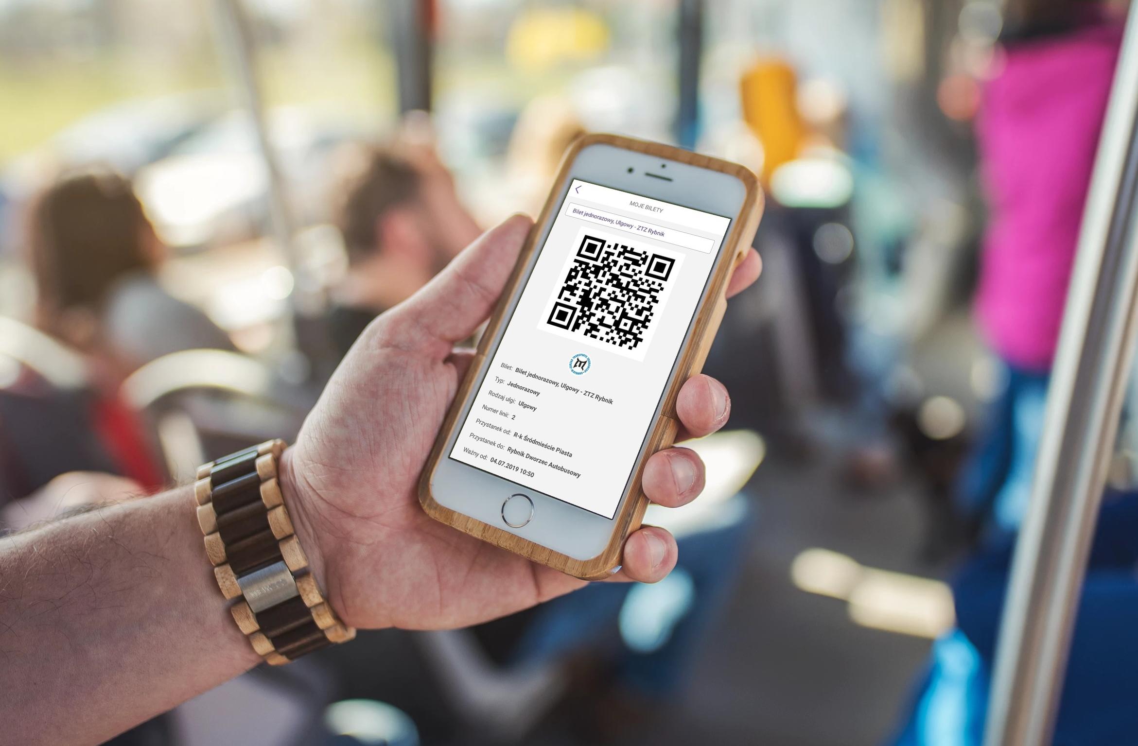 6b6215a7180423 Pasażerowie komunikacji miejskiej w Rybniku mogą już kupować bilety ...