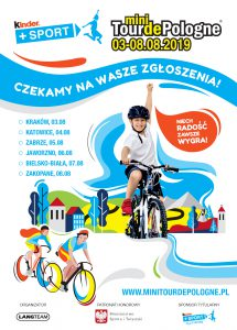 Zabrze: Kinder+Sport Mini Tour de Pologne
