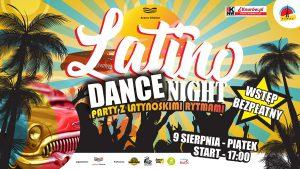 Gliwice: Latino Dance Night - taneczne party pod Areną Gliwice