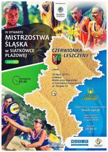 Czerwionka-Leszczyny: IV Otwarte Mistrzostwa Śląska w Siatkówce Plażowej