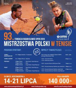 Gliwice: Mistrzostwa Polski Kobiet i Mężczyzn w tenisie