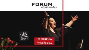 """Gliwice: Spotkania teatralne w CH Forum - """"Takiej miłości Wam życzę"""" (recital Marty Tadli)"""