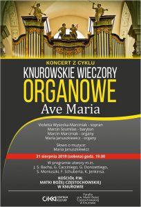 Knurów: Koncert z cyklu Knurowskie Wieczory Organowe- Ave Maria