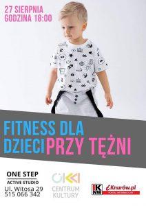 Knurów: Fitness dla dzieci przy tężni