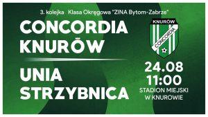 Concordia Knurów vs Unia Strzybnica