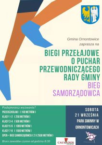 Ornontowice: Biegi Przełajowe o Puchar Przewodniczącego Rady Gminy oraz Bieg Samorządowca