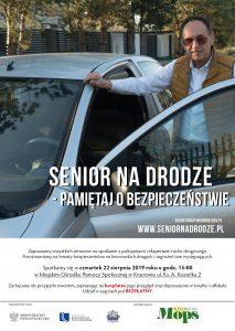 """Knurów: Zaproszenie seniorów na spotkanie """"Senior na drodze-pamiętaj o bezpieczeństwie"""""""