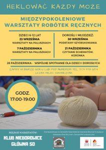 Nieborowice: Warsztaty z robótek ręcznych