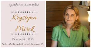 Knurów: Spotkanie autorskie z Krystyną Mirek