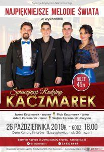 Knurów: Najpiękniejsze Melodie Świata – w wykonaniu śpiewającej rodziny Kaczmarek