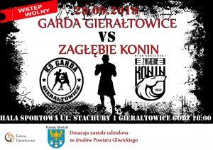 Gierałtowice: Garda Gierałtowice vs Zagłębie Konin - mecz bokserski
