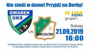 GKS Gwarek Ornontowice vs KAS Mikołów
