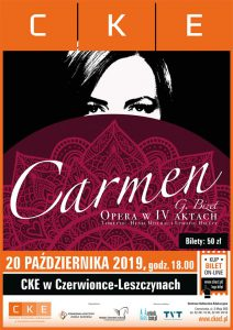 """CKE Czerwionka-Leszczyny: Spektakl operowy """"Carmen"""""""
