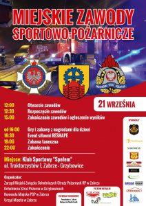 Zabrze: Miejskie Zawody Sportowo-Pożarnicze