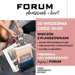 CH Forum Gliwice: Planszówkowy zawrót głowy!