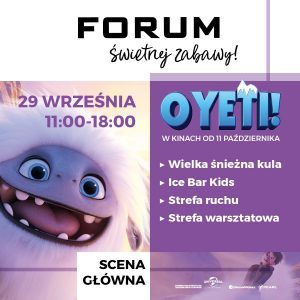 CH Forum Gliwice: O Yeti! Ale impreza!
