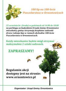 Ornontowice: Rozdajemy sadzonki lipy