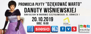 Knurów: Danuta Wiśniewska – Premiera Nowej Płyty