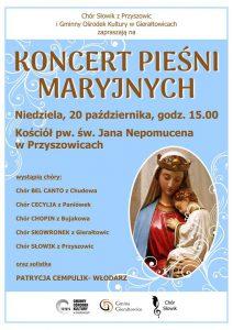 Przyszowice: Koncert Pieśni Maryjnych