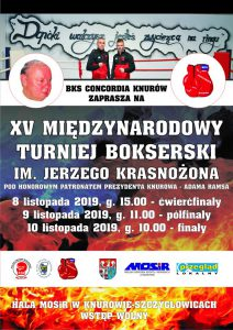 Knurów: XV Międzynarodowy Turniej Bokserski im. Jerzego Krasnożona (ćwierćfinały)